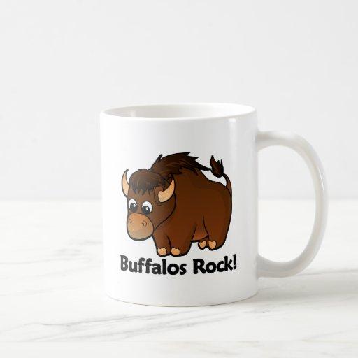 Buffalos Rock! Coffee Mugs