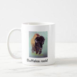 Buffalos rock! Mug mug