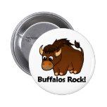 Buffalos Rock! Pinback Buttons