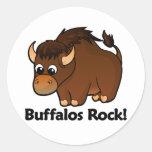 Buffalos Rock! Sticker