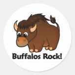 Buffalos Rock! Stickers