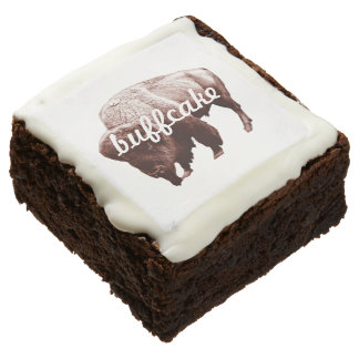 """Buffcake"" Buffalo Chocolate Brownie"