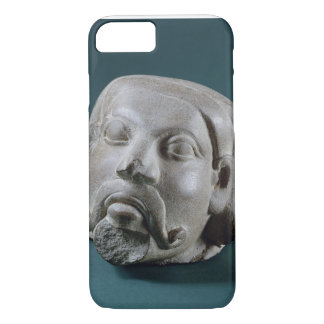 Buffed sandstone head of a foreigner, Sarnath, 3rd iPhone 8/7 Case