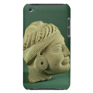 Buffed sandstone turbaned head, Sarnath, 3rd centu iPod Touch Case