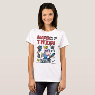 Buffer that! Computer Rage T-Shirt