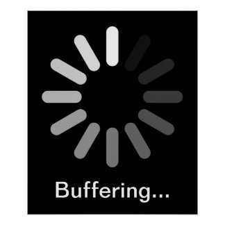 Buffering Poster (Custom Text)