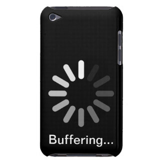 Buffering T-Shirt (Custom Text) iPod Touch Cover