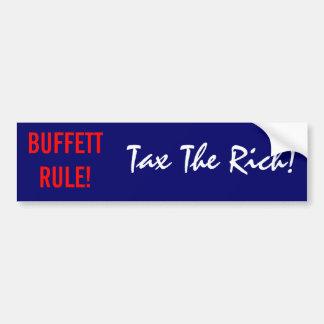Buffett Rule! Bumper Stickers