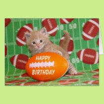Buffington - Football Birthday Card