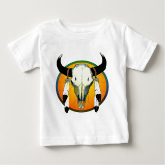 bufflalo skull baby T-Shirt
