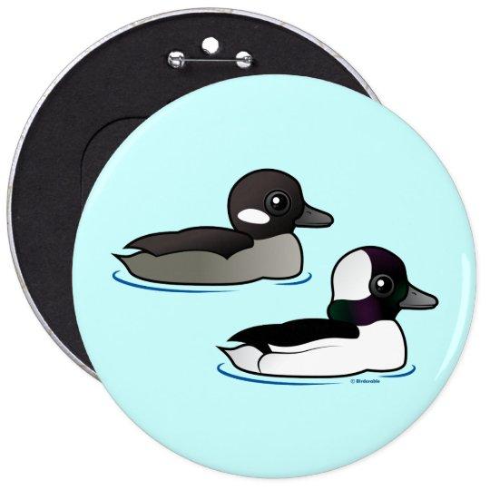 Bufflehead Pair Pinback Button
