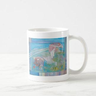 buffy and llama coffee mug
