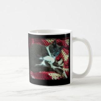 Buffy Cat's Famous Coffee Haiku on a Mug