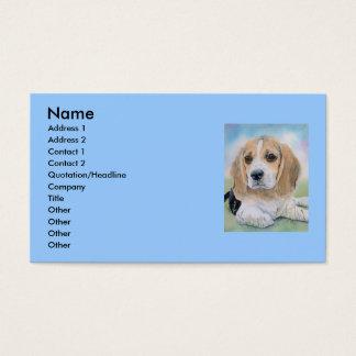 Buffy the Beagle Business Card