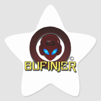 Bufinjer Logo Products Star Sticker