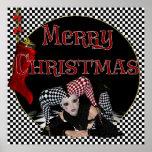 Bufón 1 del navidad - impresión de las Felices Nav Impresiones