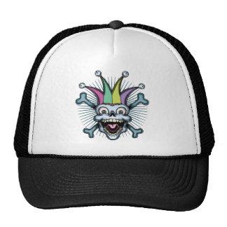 Bufón alegre gorras