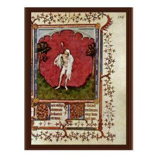 Bufón de Hesdin Jacquemart De (la mejor calidad) Tarjeta Postal