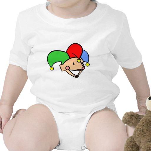 Bufón de la corte trajes de bebé