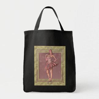 Bufón de la fantasía del KRW en rosa y oro Bolsas De Mano
