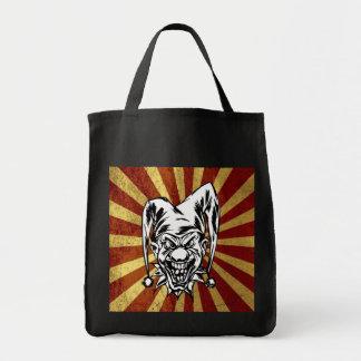 Bufón enojado bolsas