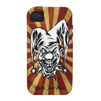 Bufón enojado - personalizar iPhone 4/4S carcasa