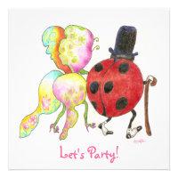 bug anniversary invitation (<em>$2.10</em>)