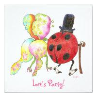 bug anniversary invitation (<em>$2.21</em>)