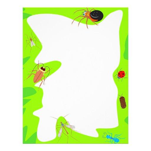 Bug Border Letterhead