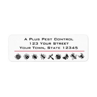 Bug Border, Pest Control Label