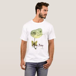 """Bug Boy"" Vintage White T-Shirt"