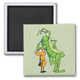 Bug Buddies 2 Inch Square Magnet