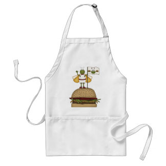 Bug Burger Adult Apron