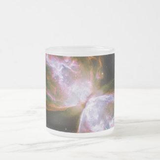 Bug Butterfly Nebula NGC 6302 Caldwell 69 Frosted Glass Coffee Mug