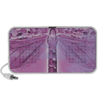 Bug Collection - Purple Dragonfly iPhone Speaker