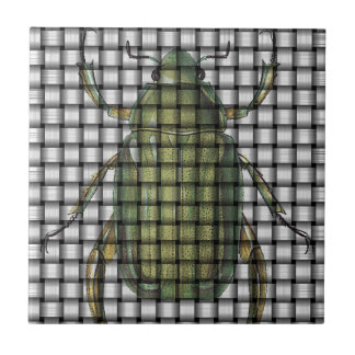 Bug Collection - Weave Beetle Ceramic Tile