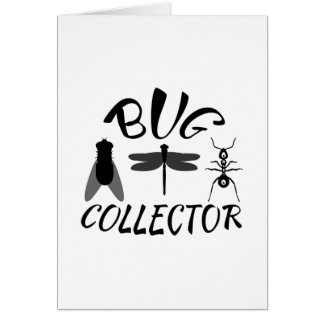 Bug Collector Greeting Card