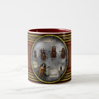 Bug Collector - The insect Collection Two-Tone Coffee Mug