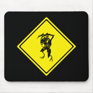 Bug Crossing Mouse Pad