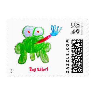 Bug Eater! stamp