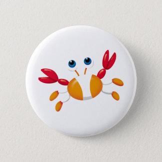 Bug-eyed Crab Button