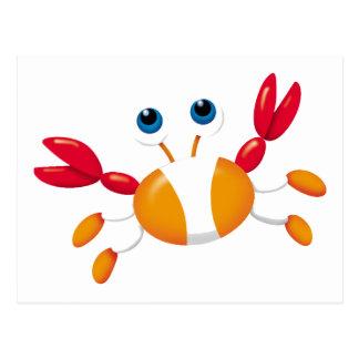Bug-eyed Crab Postcard