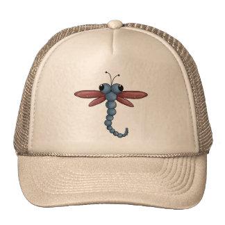 Bug-eyed Dragonfly Trucker Hats
