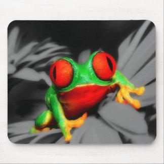 Bug-Eyed Frog Mouse Pad