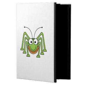 Bug Eyed Grasshopper Cartoon Case For iPad Air