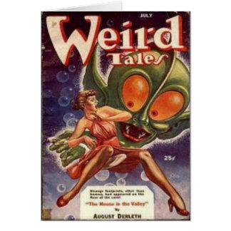 Bug-eyed Monster Card