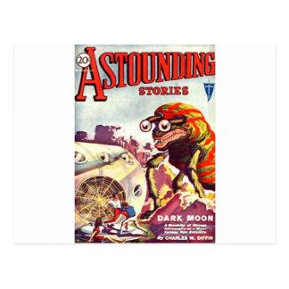 Bug Eyed Monster Postcard