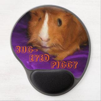 BUG-EYED PIGGY Guinea Pig Gel Mousepad
