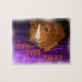 BUG-EYED PIGGY Guinea Pig Puzzle