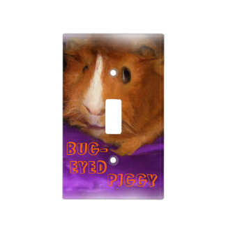 BUG-EYED PIGGY Light Switch Cover
